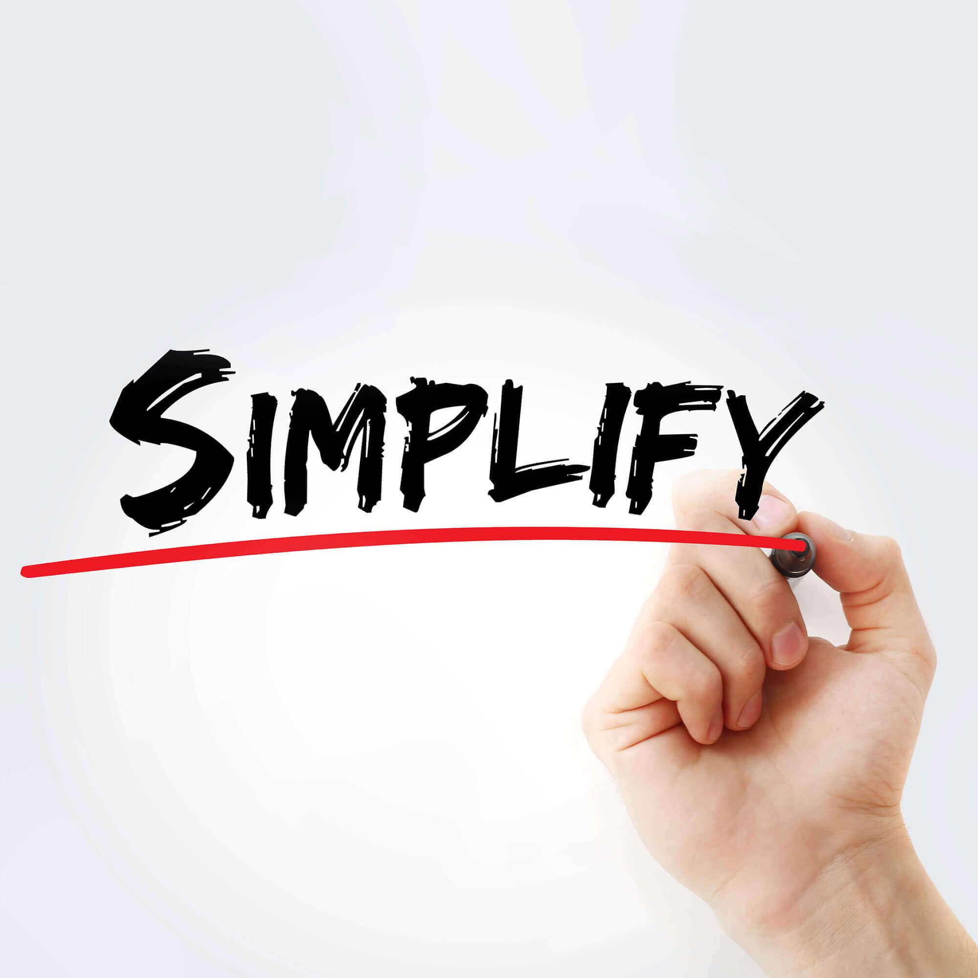Schritt 3: Vereinfachung